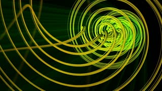 Abstract colorful twisted  Lines Animation Background