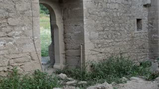 Old ruined Church .Creepy ruins