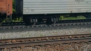 Freight train locomotive