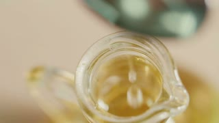 Olive oil. close up