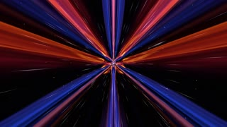 Abstract Technology Animation, Rendering, Background, Fiber Stripes, Loop, 4k