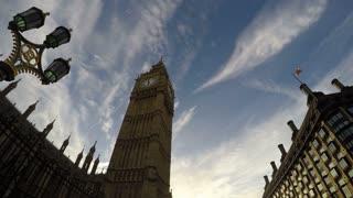 Big Ben, Time Lapse, London, 4k