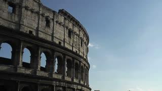 Coliseum, Rome, Italy, Time Lapse, 4k