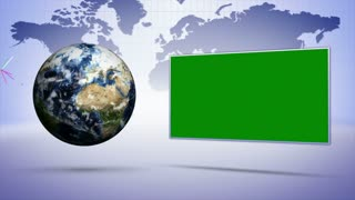Earth and Business Concepts Background, Loop, 4k