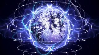 EARTH DISCO BALL Background Loop, 4k
