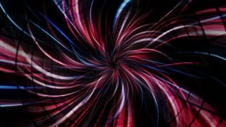Fibers Tunnel Background, Technology Cable Concepts, Loop, 4k