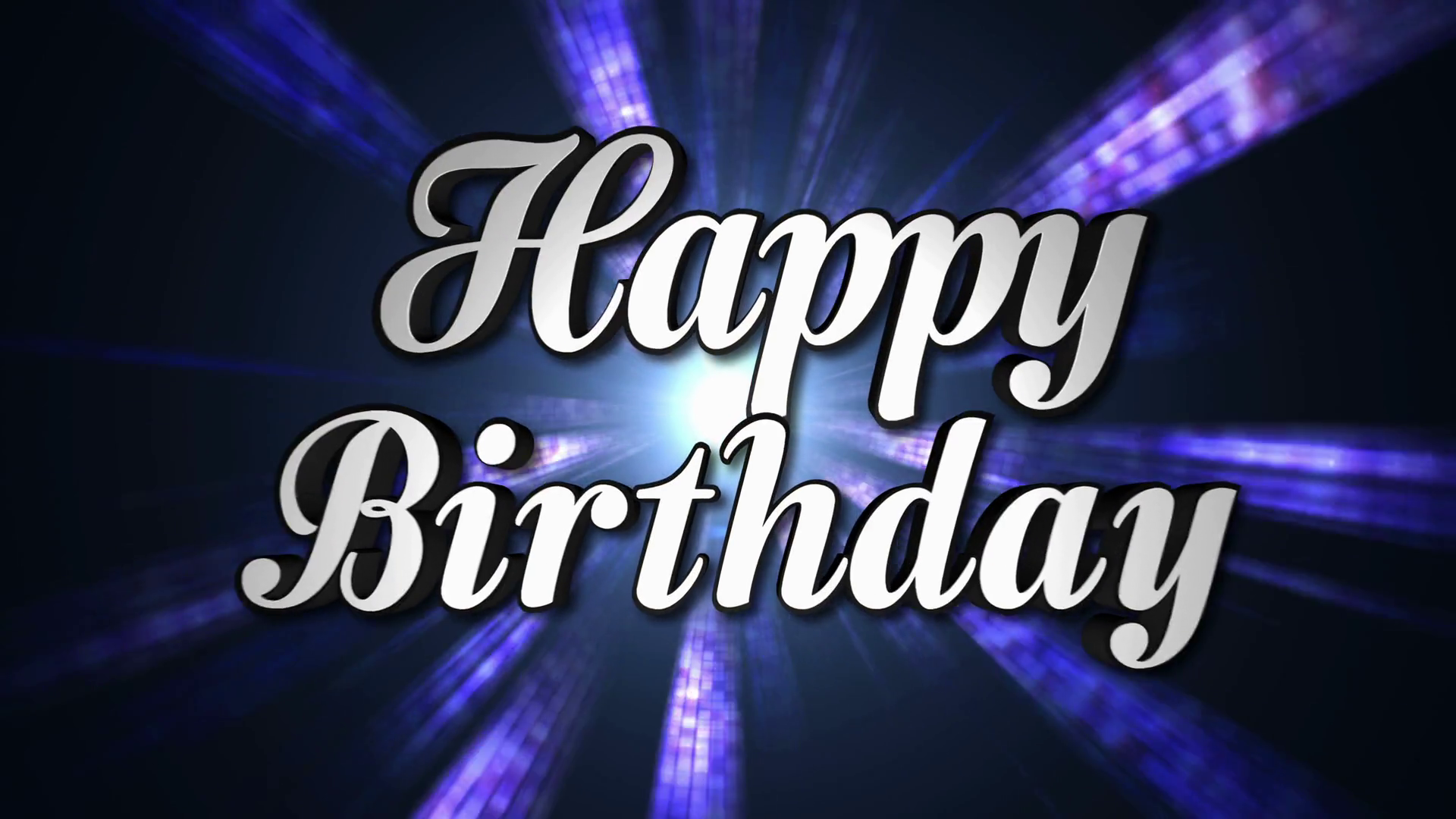 Happy Birthday Animation Text and Disco Dance Background, Zoom IN/OUT  Rotation, with Alpha Channel, Loop, 4k Motion Background - Storyblocks