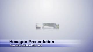 Hexagon Presentation (Music Included) - HD1080