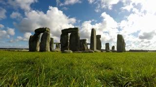 Stonehenge, Salisbury, Amesbury, England, Real Time, 4k