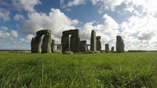 Stonehenge, Salisbury, Amesbury, England, Time Lapse Loop, 4k