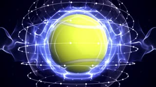 TENNIS BALL Animation, Loop, 4k