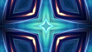 Abstract Falling Into the Space Technology Animation, Background, Rendering, Loop, 4k