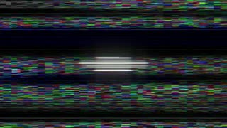 BINGO Glitch Text Animation, Rendering, Background, with Alpha Channel, Loop, 4k
