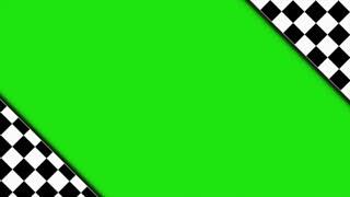 Checker Door Animation with Green Screen, Rendering, Background, Loop, 4k