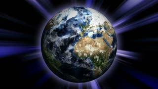 Earth and Universe Concepts Animation, Rendering, Background, Loop, 4k