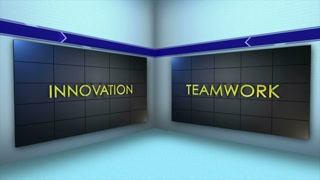 IMPROVEMENT Keywords Text Animation, Rendering, Background, Loop, 4k