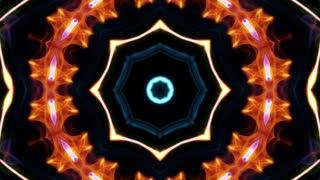 Kaleidoscope Abstract Loop Background, Animation, Rendering, Loop, 4k