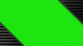 Metal Gate with Green Screen, Animation, Rendering, Background, Loop, 4k