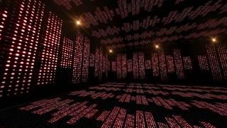 Music Room and Radio Waves, Animation, Rendering, Background, Loop, 4k