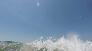 Waves on Cam, Drown Sink, Dangerous, 4k