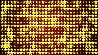 Yellow Star, Green Screen, Animation, Rendering, Background, Loop, 4k