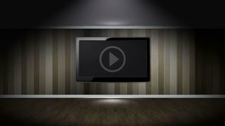 WEB Text Animation and Html Code in Monitor and Room, Rendering, Background, Loop, 4k