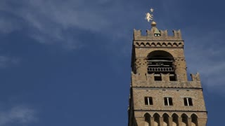 MH LA LD Clock Tower of Palazzo Vecchio / Florence, Italy