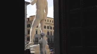 MH TU Statue of David in Palazzo Vecchio / Florence, Italy