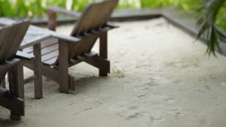 MS PAN Chairs on sand