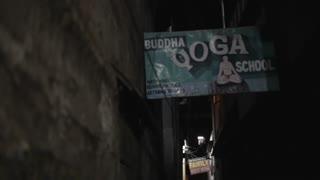 MS Sign for Buddha Yoga School / Varanasi, India