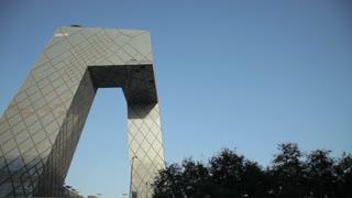 PAN WS LA CCTV Headquarters building in Beijing city / China