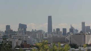 WS Beijing city skyline/ China