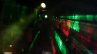 WS Flashing Colored Lights in Nightclub / Singapore