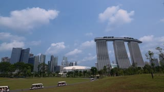 WS Gardens By The Bay and Marina Bay Sands / Singapore