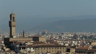 WS HA PAN Townscape with Baptistery and Santa Maria Del Fiore Cathedral / Florence, Italy