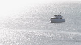 WS HA Yacht sailing on sea
