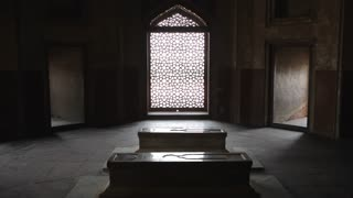 WS Interior of Humayun Tomb / Delhi, India