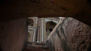 WS LA Humayun's Tomb with sun flare / New Delhi, India