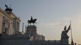 WS LA LD Monumento Nazionale A Vittorio Emanuele II / Rome, Italy