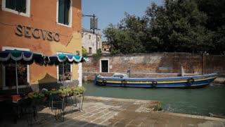 WS LD Restaurant Next to Canal / Venice, Italy