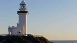 WS Lighthouse on rocks