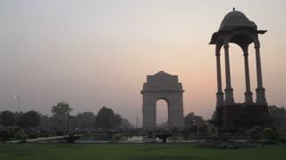 WS PAN India Gate at sunset / New Delhi, India