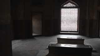 WS PAN Interior of Humayun Tomb / Delhi, India