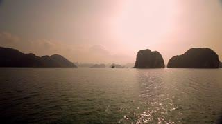 WS PAN Islands in Ha Long Bay / Vietnam