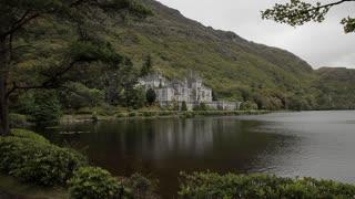 WS PAN Stone Castle Next to Lake / Ireland
