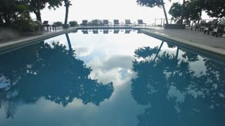 WS Reflection of trees in pool