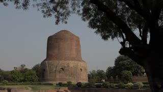 WS Stupas where Buddha chose to deliver his first sermons / Sarnath, India