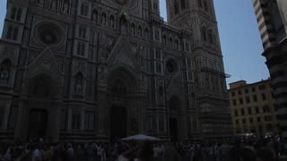 WS TU Santa Maria Del Fiore Cathedral with Sun Flare / Florence, Italy