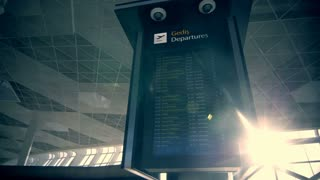 Your travel starts here: departures flights information schedule in international airport