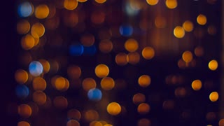 Abstract Background Blurry Bokeh Stars